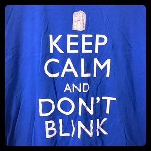 """Other - Doctor Who """"Keep Calm and Don't Blink"""" T-Shirt"""